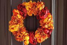 Fall Into Autumn / Fall decor, DIY ideas, Halloween fun and turkey tips.