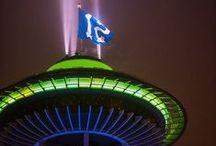 The 12th Man - Seahawks Season / Seattle Seahawks decor and 12th Man inspiration.