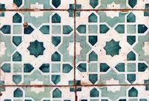 TILES / Tile Inspiration #tile #shape #size #colour #placement