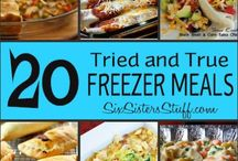 I don't want to cook ~ Freezer Meals