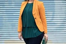 Plus Size Fashion / Outfits and fashion for the plus-size women.