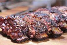 Smoked Pork Recipes / Pork ribs, Pork shoulder, Pork Butt, Pork Tenderloin, Ham, etc.