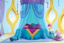 Dreamy Genie Bedroom / Room, Zahramay! Help Nick Jr. create a one-of-a-kind Shimmer and Shine bedroom divine. You pin and we'll design a real-life bedroom based on your ideas! Message us to request access.