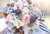 Navy blue wedding /  with: yellow or pinks&blush? Or both