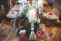Holiday Themed Wedding / This holiday season I have partnered with Edna Valley Vineyard  to share the ultimate inspiration for a holiday themed wedding! {content for 21+} #sponsored