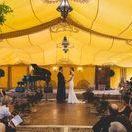 Saffron Tent