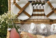 PICNIC /  It's National Picnic Week! Find inspiration for an outdoor and rustic picnic thematic wedding day!