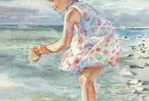 Watercolor Portraits / Custom watercolor portraits of that special person, to be treasured for generations.