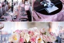 Mallory's Baby Shower / Elegant with pink, white and silver