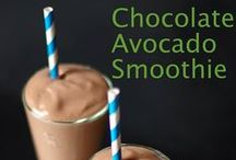 Avocado Smoothies / Our favorite green smoothies must contain avocado ... What else do you add to yours?
