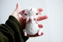 Creatures, Monsters / by Olga Tanskaia
