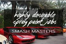Highly Desirable Spray Paint Jobs... / yep, we'd all be happy with one of these parked in our driveways...