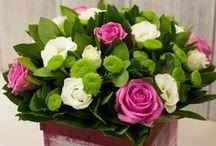 Ανθοσυνθέσεις σε καλάθια / Υπέροχες ανθοσυνθέσεις σε καλάθια και κασπώ, για να δώσετε μια «φρέσκια» διάθεση στον προσωπικό και επαγγελματικό σας χώρο! Beautiful selection of floral arrangements in baskets for all occasions.
