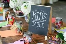 Activites for Kids / A collection of fun ideas to keep your children and guests happy throughout your big day!