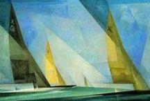 Lyonel Feininger /  Lyonel Feininger (1871–1956 New York)  リオネル・ファイニンガー