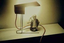 en su nueva vida... / Nuestras lámparas con sus nuevos dueños. Creando ambientes y dando luz.