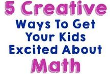 Math / Math lessons and ideas for homeschool education.
