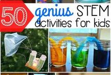 STEM / Science, Technology, Engineering and Math lessons and ideas for homeschooling.