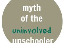 Unschooling / Unschooling is a philosophy of education that is child-led learning, discovery learning, life learning.