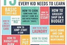 Errands and Chores and Education / Life skills essons and ideas for including errands and chores in home education.