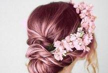 * Pink Dye Hair *