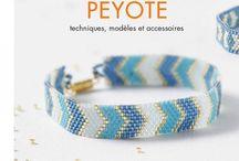 Peyote, brick stich beading