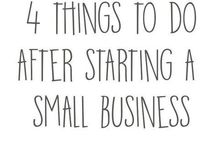 small business tips / A collection of guides, advices and tips for entrepreneurs and small business owners, that I found useful: seo, website, marketing, brand identity, how to use Facebook, Instagram, Pinterest and so on.