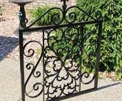 Wrought Iron and Steel Gates / Gates that can be made by Madison Iron and Wood. Visit www.madisonironandwood.com for details