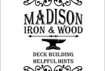 Build a deck! / Helpful hints and tips for building decks. Add exclusive items from www.madisonironandwood.com to make it unique