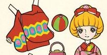 paper dolls / Paper dolls from Japan - vintage and cute!