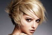 Coupes cheveux courts / Hair short cut - Coupe cheveux court / by Coupeido Salon de Coiffure Paris