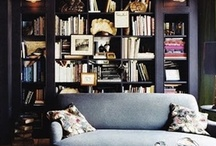 Lusting for an Old World Home / If one day my partner and I were able to own an older style house with 'vintage' style design and furnishings with a massive library!!          