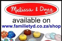 MelissaDoug products / Everybody loves Melissa & Doug products!
