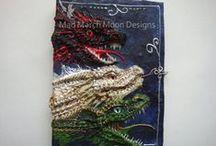 Mad March Moon Design by Sarah / My Handmade 3D journals,artwork, craft work and original handmade paper cuts.