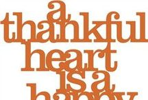 THANKSgiving / Give thanks everyday