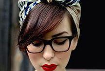 coiffures, make up et fringues