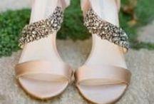Cinderella Wedding Shoes / .