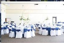 White and Blue Wedding / Different colors represent happiness...