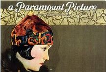 Silent movie posters