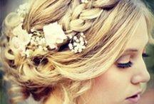 WEDDING HAIRSTYLE INSPIRATION / Bridal Hairstyle - Coiffure mariée - Chignon - Bohème chic.