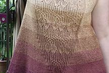 In my library / Patterns saved in my Ravelry Library
