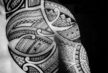 Art - Human Canvas Tattoos / Tattoo designs mainly tribal my fav. I love good ink not fond of coloured i prefer black grey sleeves. Deffo not into ink names / by Lis C