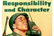 Vintage Army Posters / A look back at the Army through recruiting and motivational posters. / by U.S. Army Fort Huachuca