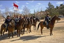 B Troop, 4th U.S. Cavalry (Memorial) / This all-volunteer ceremonial unit maintains the tradition of Fort Huachuca's cavalry heritage. / by U.S. Army Fort Huachuca