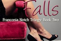 When She Falls: Franconia Notch Trilogy Book Two / She has a point to prove.  He wears a kilt.  And there will be croquet.  In the Berkshires.  Contemporary romance When She Falls: Franconia Notch Trilogy Book Two.