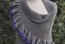 shawls, cowls / knitted shawl, cowl, neckwarmer, stole patterns