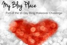 My Blog Place / I am participating in a blog makeover challenge. I was asked to describe and define where my blog place would be. What it would feel like? What would it look like?  My blog place isn't a particular area, but it's a feeling. It makes me feel alive, empowered, full of faith, and reminds me that strength, beauty, health, and lots of fun are vital to living an outstanding life.