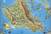 Historia del mapa ilustrado / Mapas ilustrados de todas las épocas.