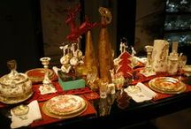 Festive Table Dressing | Royal Crown Derby / Create a stunning, luxury tablescape this Christmas, with Royal Crown Derby.