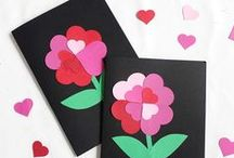 Valentine's Day Crafts & Learning Activities for kids / This board is full of awesome Valentine's day crafts and learning activities for kids and preschool.